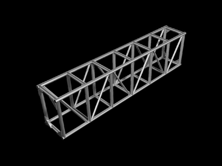 FTB-H | 59x52cm (30x20.5inch)  bolted truss FTB | ExhibitAluTruss