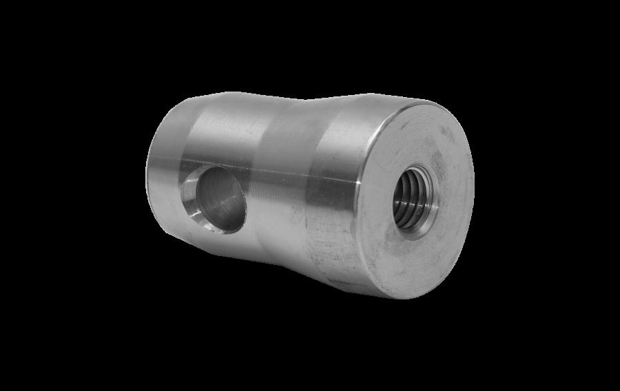 3110 | 3110 Halfconnector male aluminium | ExhibitAluTruss