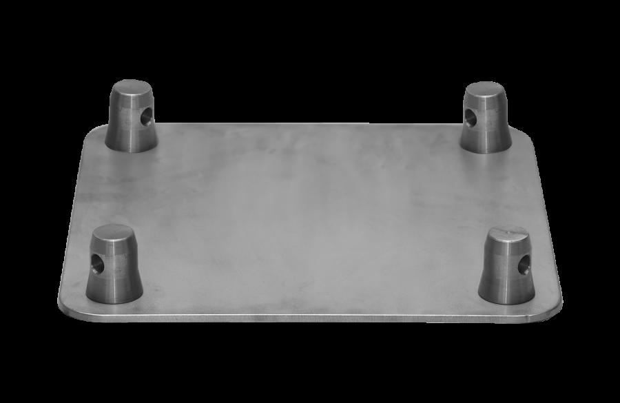 3004 | 3004 Base plate for FT34 male | ExhibitAluTruss