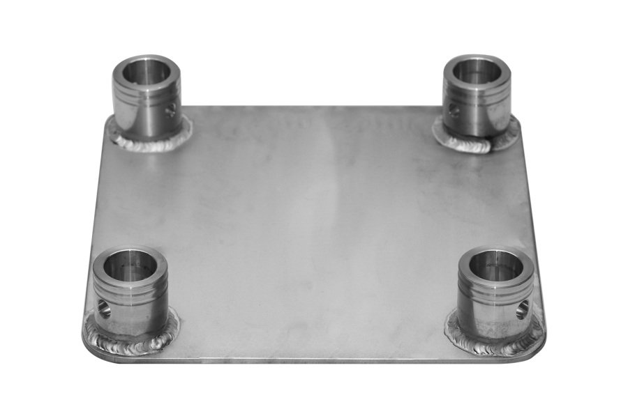 3004/F | 3004/F Base plate for FT34 female | ExhibitAluTruss