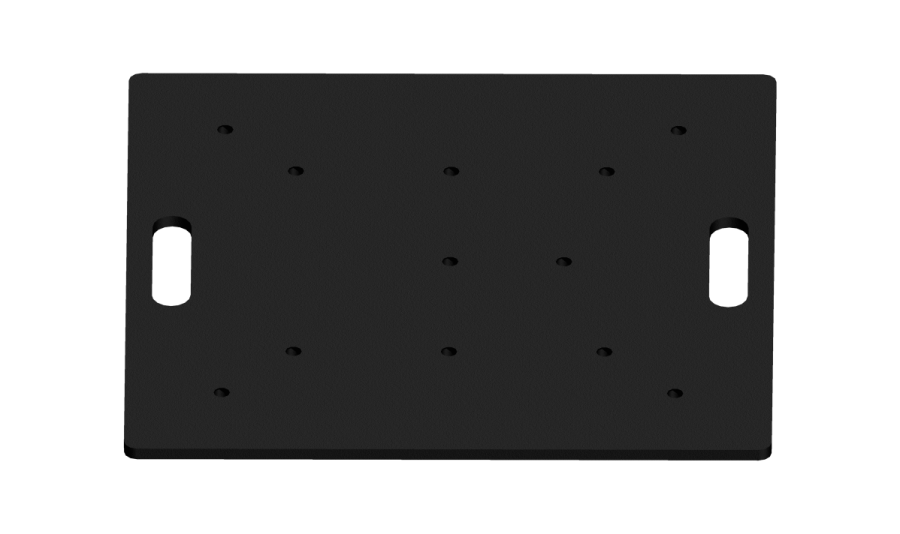 1000 | 1000 Universal steel base plate | ExhibitAluTruss