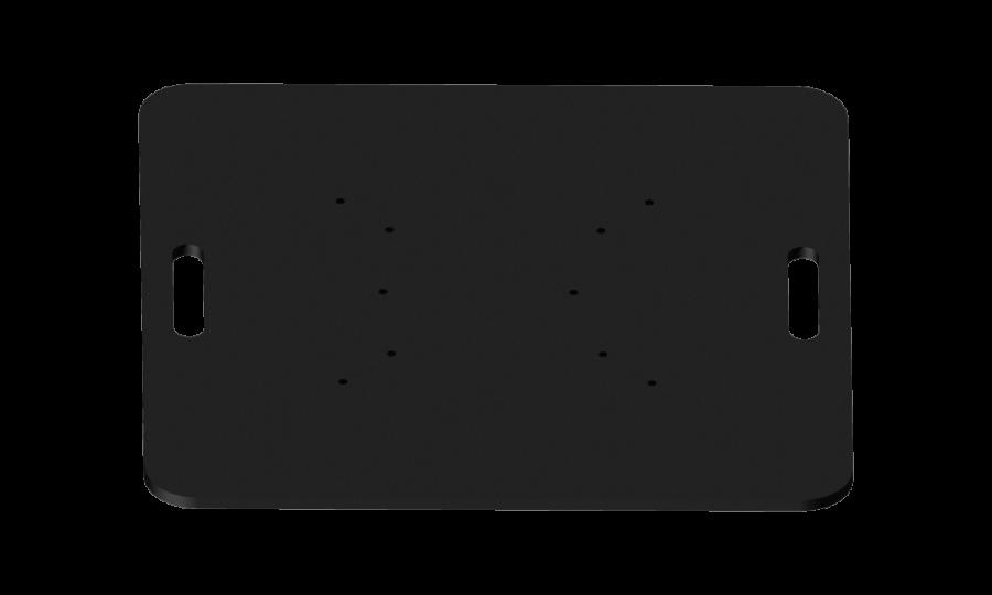 1001 | 1001 Universal steel base plate | ExhibitAluTruss