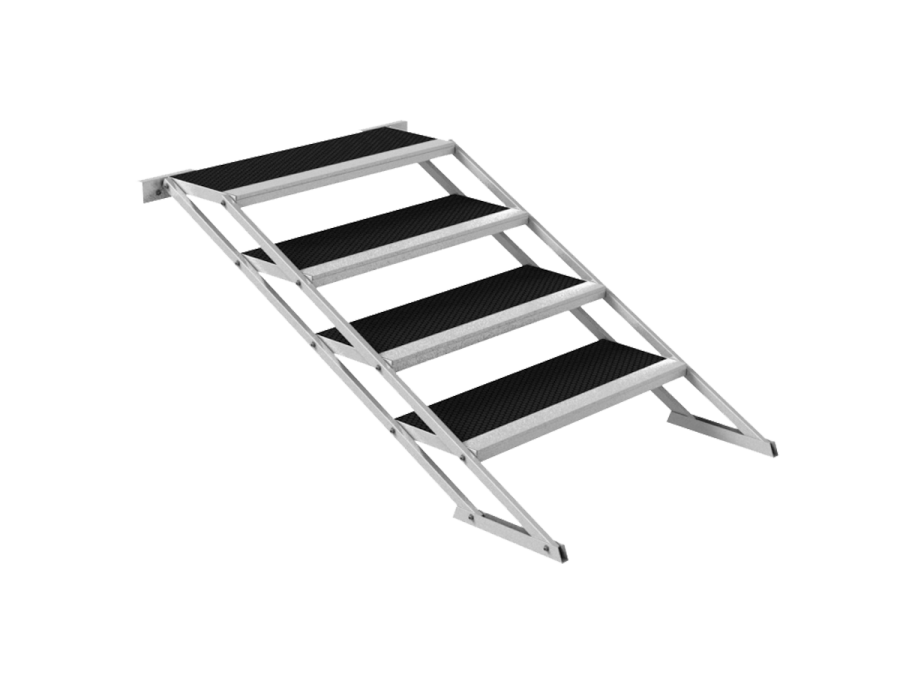 STH-STAIRS/ADJ | Adjustable stairs for staging system STH-STAIRS TAF | ExhibitAluTruss
