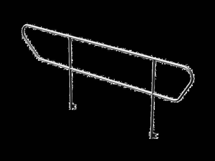 STH-RAIL/ADJ | Handrail for stairs of staging system STH-RAIL TAF | ExhibitAluTruss
