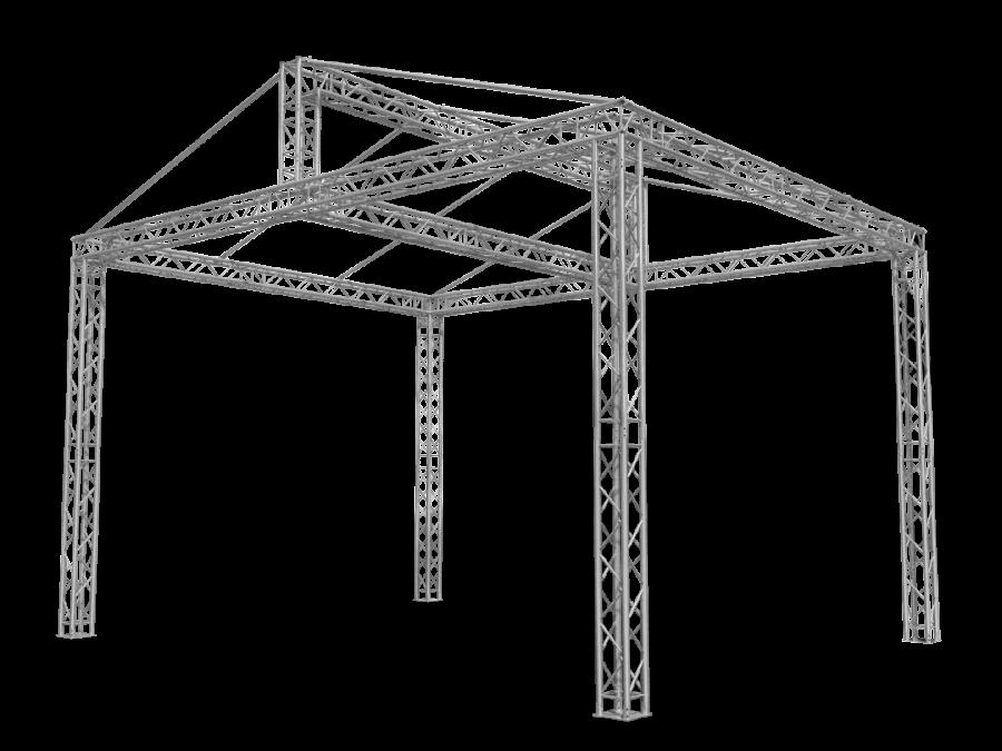 ROOF-S RST1 | aluminium truss roof RST | ExhibitAluTruss