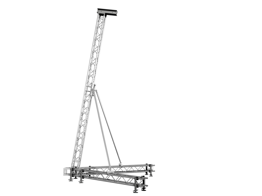 PA-TOWER-1 | Line array aluminum support - PA TOWER 1 | ExhibitAluTruss